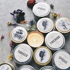 Brooklyn Candle Studio   昨日キャンドルがBrooklynから届きました蓋を開けているだけでも部屋いっぱいに良い香りが広がります  OF PLANTS web storeにて販売しております ( http://bit.ly/234edM2 )  ソイキャンドルは手首につけて練り香水のように香を楽しむ事が出来るので嬉しい  #candle #flower #plants #botanical #brooklyncandlestudio by _yulico______