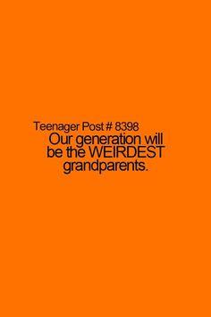 Teenage post