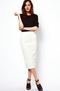 c145c0b2e2 34 Best Black midi skirt images