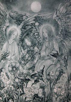 EXRARE SULAMITH WULFING ANGELS 1946 WONDERFUL!!HARDBACK-BEAUTIFUL PLATES! WOW!! | eBay