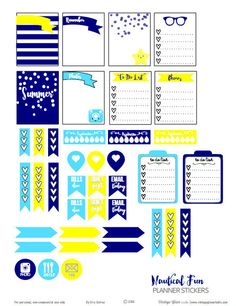 Free nautical planner stickers printable suitable for Erin Condren life planners and other vertical weekly planners. Free for personal use only. Summer Planner, To Do Planner, Free Planner, Planner Layout, Erin Condren Life Planner, Planner Pages, Happy Planner, Planner Ideas, Family Planner