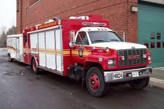Ottawa Fire Apparatus | OFS 71-0179 HM24 Hazmat truck & trailer Decon24 at Station 21 Ottawa ...