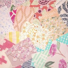 A little something to brighten up your Tuesday #memomix #textiletuesday