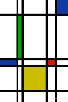 Backdrop Inspo: Mondrian