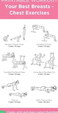 Chest And Tricep Workout, Chest Workout Women, Weights Workout For Women, Gym Workout Plan For Women, Chest Workouts, Fun Workouts, Chest Exercises, Gym Workouts Schedule, Back And Bicep Workout