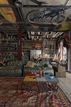 Modern Loft Apartment-Galina Lavrishcheva-11-1 Kindesign