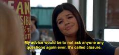 Happy Endings Single Ladies, Single Women, Movie Lines, Happy Endings, I Missed, I Miss You, Favorite Tv Shows, Advice, Lol