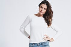 Baker Cashmere Sweater - Ice White #fashion #style #luxury #knitwear #clothing #inScout