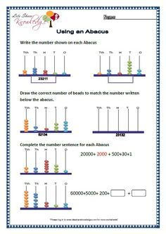image result for math worksheets for abacus count class   my maths  image result for math worksheets for abacus count class   my maths garden   pinterest  math worksheets math and math vocabulary