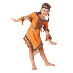 Disfraz de India Cherokee Infantil #disfraces #carnaval #novedades2016