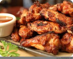 Miss Robbie's BBQ Chicken Wings (Sweetie Pies)
