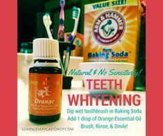 Loving Every Last Drop Teeth Whitening With Orange Essential Oil www.lovingeverylastdrop.com #teethwhitening
