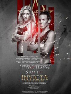 Invicta FC 7: Honchak vs. Smith Fightcard