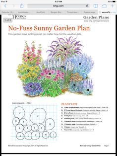 Flower garden plans - Many are selecting this spectacular design and style for their woodwalkway Flower Garden Plans, Garden Yard Ideas, Garden Projects, Small Garden Plans, English Flower Garden, Perennial Garden Plans, Butterfly Garden Plants, Perennial Gardens, Cut Flower Garden