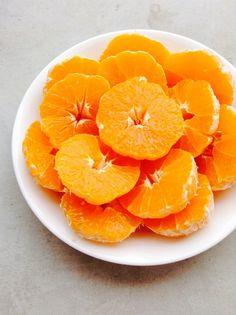 Eat oranges.