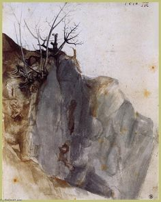 Acheter Tableau 'carrière' de Albrecht Durer - Achat d'une reproduction sur toile peinte à la main , Reproduction peinture, copie de tableau, reproduction d'oeuvres d'art sur toile