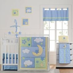 Laugh Giggle and Smile Wish I May Baby Bedding Collection