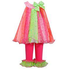 Little-Girls 2T-6X Bright Glitter Dot Trapeze Dress/Legging Set, Bonnie Jean, Fuchsia, 3T Bonnie Jean http://www.amazon.com/dp/B00S7DVETI/ref=cm_sw_r_pi_dp_e.Hwvb1AE0YKP