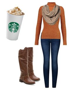 """fall style"" by eclovebug on Polyvore featuring 2LUV, Just Cavalli, Merona and XOXO"
