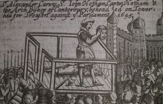 The execution of William Laud
