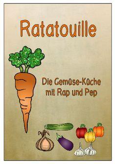 Ratatouille - Leseheft mit einfachen Gemüserezepten für Kinder