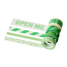 Paper shop - Paper decorations & Stationary - IKEA. Tape: Open me.