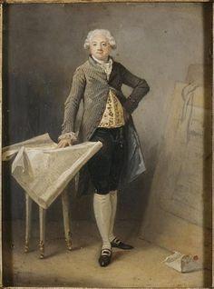 Marguerite Gérard, Portrait de l'architecte Claude-Nicolas Ledoux
