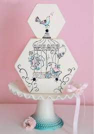 Love this unique wedding cake!