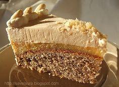 Mousse, Russian Desserts, Dessert Drinks, Something Sweet, Sweets Recipes, Sweet Desserts, Desert Recipes, Soul Food, Vanilla Cake