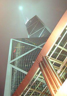 Bank of China - Central, Hong Kong. Hong Kong Building, Hong Kong Architecture, Guilin, This Is Love, China Travel, Skyscrapers, Cityscapes, Best Memories, Beijing