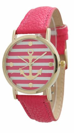 Striped Anchor Watch OMG I love this! Thanks @Danielle Clements Volking !!