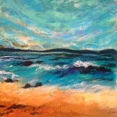 The Clear Blue by Moy Mackay.  FELT.  I have a new appreciation of the possibilities of using felt as an artistic medium.