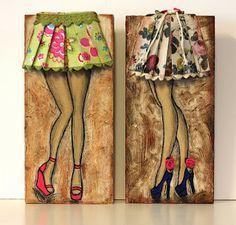 Con Tus Manos L'art Adolescent, Art Fantaisiste, Teen Art, Diy Canvas Art, Mini Paintings, Ceramic Painting, Art Journal Inspiration, Whimsical Art, Beautiful Artwork