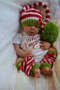 ~*Katescradles*~  LAINEY by ADRIE STOETE ~ Reborn Baby Doll ~ CHRISTMAS BABY !!