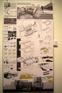 2013 명지대 건축 졸업작품 전시회 (스압) - 게으르드 싸이홈 Concept Board Architecture, Architecture Drawing Plan, Architecture Presentation Board, Architecture Panel, Landscape Architecture Design, Landscape Diagram, Interior Design Presentation, Exhibition Building, Art Worksheets