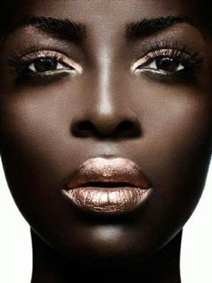 Brown eyes and nude eyes and lips. Bring out the best in your brown eyes!