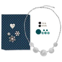 Everything you need to create your own beautifully embellished necklace for just $14.95! Great gift idea too! Order at www.Mandy.CTMH.com