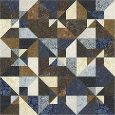 Pinwheel Squares Quilt Kit