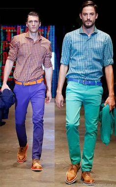 ropa de moda urbana para hombres invierno 2014 Bolivia