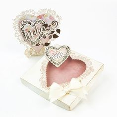 Tonic Floral Affection dies Tonic Cards, Elizabeth Craft, Create And Craft, Sally, Tatting, Studios, Favors, Place Card Holders, My Love