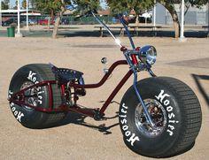 Képtalálat a következőre: Big Fat Tire Bikes Pit Bike, Velo Design, Bicycle Design, Push Bikes, Bmx Bikes, Motorcycles, Cool Bicycles, Cool Bikes, Bicicleta Tandem