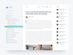 Continue our exploration of Simple Web for Documentation, and this is the detail page where each team member can read the document easily. We imagine that reading a document is as easy as reading a...