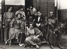 August Sander 1930, Group of Circus People