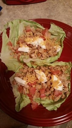Cabbage turkey taco