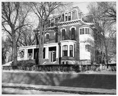 Dodge House - Council Bluffs, IA. by Council Bluffs Public Library Special Collections, via Flickr