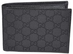 NEW Gucci Men's 292534 Black Nylon GG Guccissima W/Coin Large Wallet. Free shipping and guaranteed authenticity on NEW Gucci Men's 292534 Black Nylon GG Guccissima W/Coin Large WalletNew in Box Style 292534 $395 MSRP Smooth Black ...