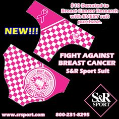 Go All #Pink with the new Men's #FightAgainstBreastCancer S&R Sport #suit.  #BreastCancerAwarenessMonth #SRSport www.srsport.com #WaterPolo #Swimming #Diving #Triathlon