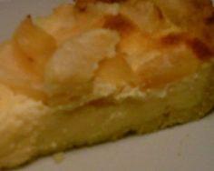 tarte de maça e leite condensado