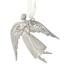 Seasons of Cannon Falls Serenity Memory Angel Ornament *** More info could be found at the image url.