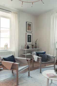 Living room in Beckomberga's apartments for seniors.